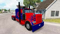 Optimus Prime skin for the truck Peterbilt 389