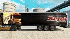 Bepo skin for trailers for Euro Truck Simulator 2
