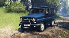 UAZ-315195 hunter v2.0 for Spin Tires