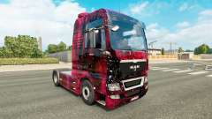 Skin Weltall on the truck MAN for Euro Truck Simulator 2