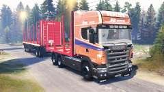 Scania R620 v2.0 for Spin Tires