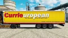 Skin Curries on European trailers