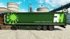 Skin RH for semi-trailers