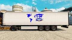 Skin Danone to trailers for Euro Truck Simulator 2