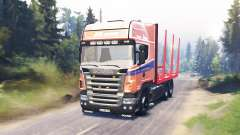 Scania R620 for Spin Tires