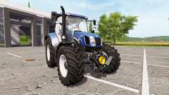 New Holland T6.160 blue power