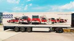 Skin Iveco Magirus for trailers for Euro Truck Simulator 2