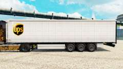 Skin UPS for trailers