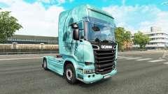 Skull skin for truck Scania