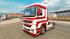 Skin Metallic for tractor Mercedes-Benz