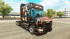 The skin of the Duck Dynasty for truck Scania T for Euro Truck Simulator 2