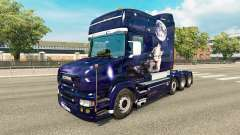 Wolf skin for truck Scania T for Euro Truck Simulator 2