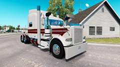 The White Knight skin for the truck Peterbilt 38