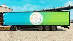 Skin Bayer for semi-trailers for Euro Truck Simulator 2