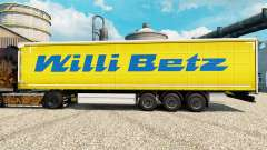 Willi Betz skin for trailers for Euro Truck Simulator 2