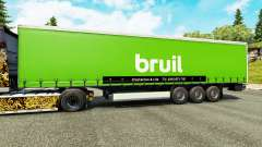 Skin Bruil on semi for Euro Truck Simulator 2