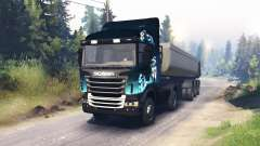Scania R730 2x2 for Spin Tires