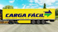 Skin Carga Facil on semi for Euro Truck Simulator 2