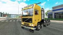 Volvo F10 8x4 for Euro Truck Simulator 2