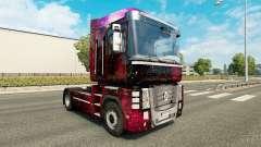 Weltall skin for Renault Magnum truck