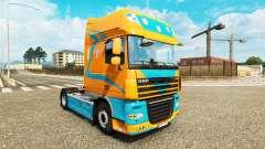 Pezzaioli Pigs skin for DAF truck