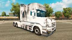 Pirates skin for truck Scania T for Euro Truck Simulator 2