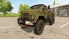 ZIL-131 flammable for Farming Simulator 2017