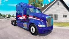 Skin B. T. INC. the tractor Peterbilt 387
