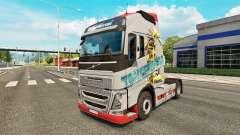 Transformers skin for Volvo truck for Euro Truck Simulator 2