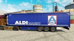 Skin Aldi Markt for semi-trailers
