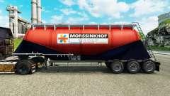 Skin Morssinkhof Groep cement semi-trailer for Euro Truck Simulator 2