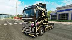 A John Player Special skin for Volvo truck