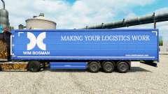 Wim Bosman skin for trailers for Euro Truck Simulator 2