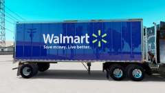 Skin Walmart on small trailer
