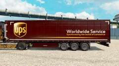 Skin United Parcel Service for trailers