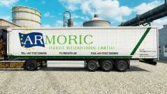 Skin Armoric Freight International on the traile