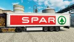 Skin SPAR for trailers for Euro Truck Simulator 2