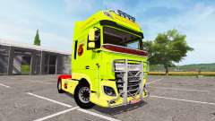 DAF XF Super Space Cab tuning for Farming Simulator 2017