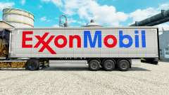 Exxon Mobil skin for trailers for Euro Truck Simulator 2