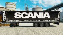 Skin Scania Truck Parts dark to semi