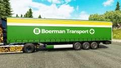 Skin Boerman Transport on semi-trailers