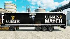 Guinness skin for trailers for Euro Truck Simulator 2