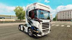 Skin Exclusivo on tractor Scania