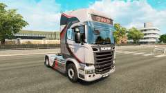 GiVAR BV skin for Scania truck