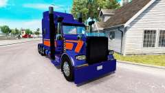 Rollin Transport skin for the truck Peterbilt 389 for American Truck Simulator