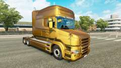 Metallic skin for Scania T truck