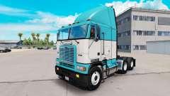 Skin Baby Blue truck Freightliner FLB
