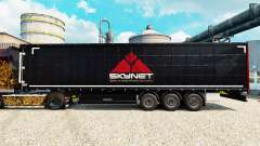 Skynet skin for trailers for Euro Truck Simulator 2