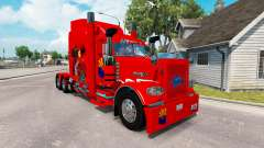 Skin Arizona USA Red tractor Peterbilt 389