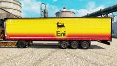 Skin Eni for trailers for Euro Truck Simulator 2